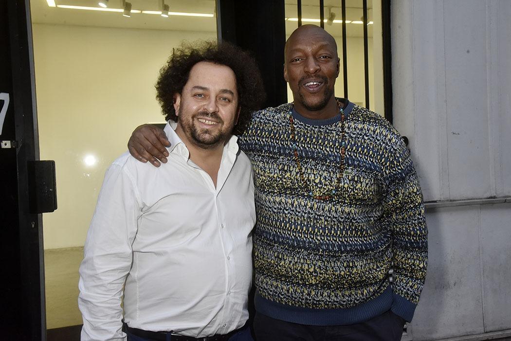 Bruno Smadja createur du festival mobile en totale osmose avec Oxmo Puccino