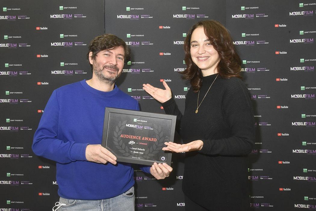 Elle a coréalisé «Woman» avec Yann Arthus Bertrand La réal Anastasia Mikova nous présente le Prix du Public du Mobile Film Festival 2020 Lionel Nakache