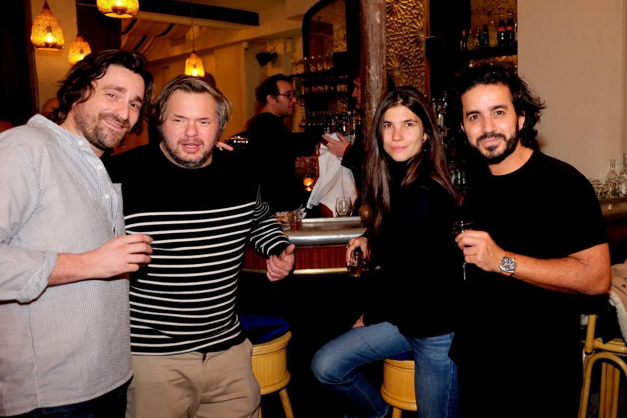 Aurélien Del, Edouard  Rostand and friends