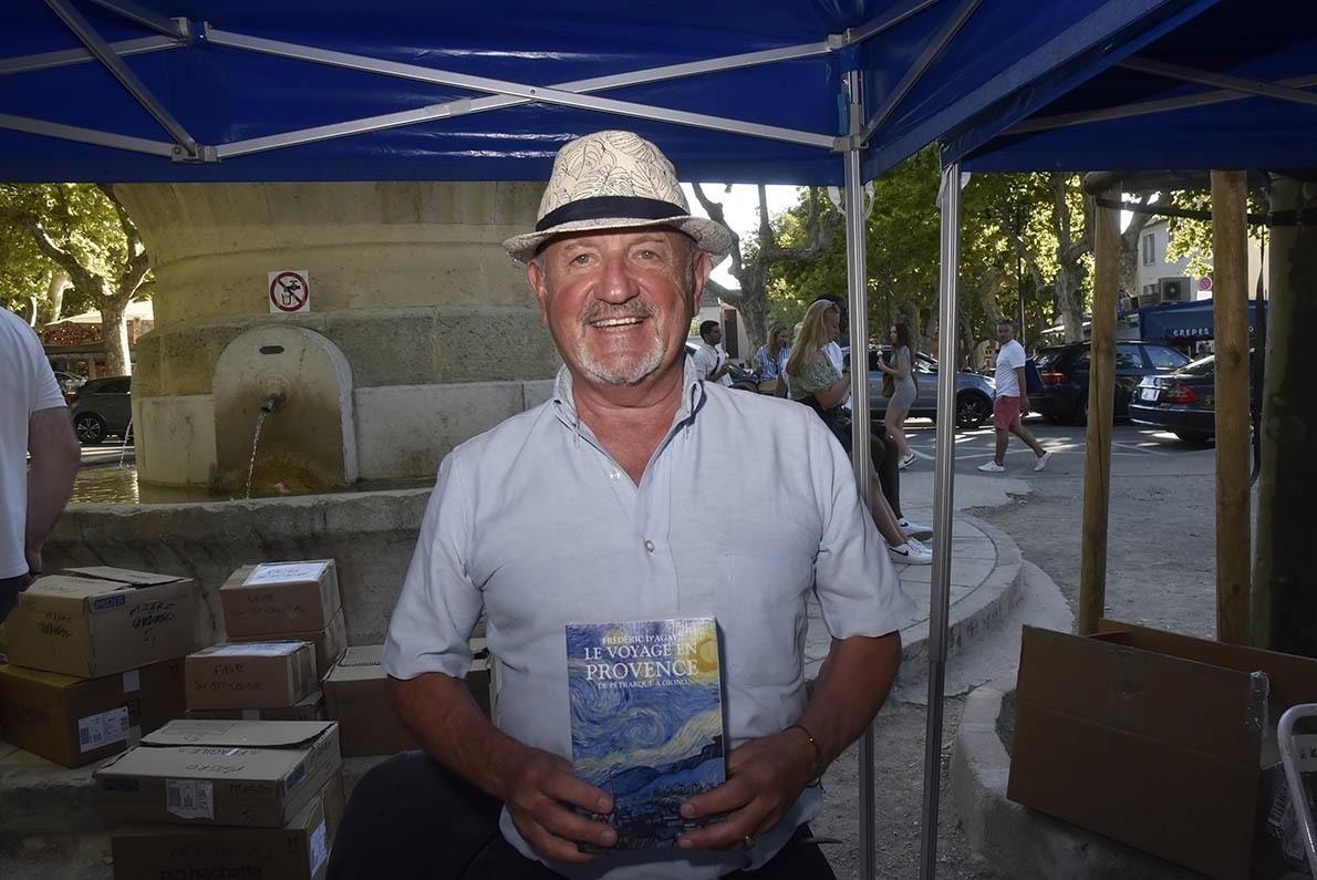 Venu de Province Frederic d'Agay raconte son pelerinage en provence