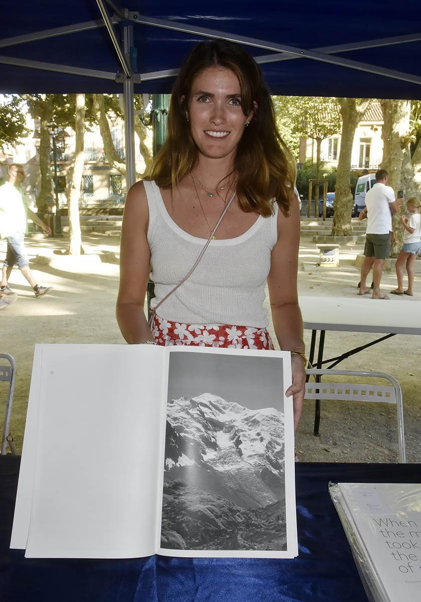 Victoire Eouzan est trop douée aussi bonne lettriste que photographiste et qu'alpiniste