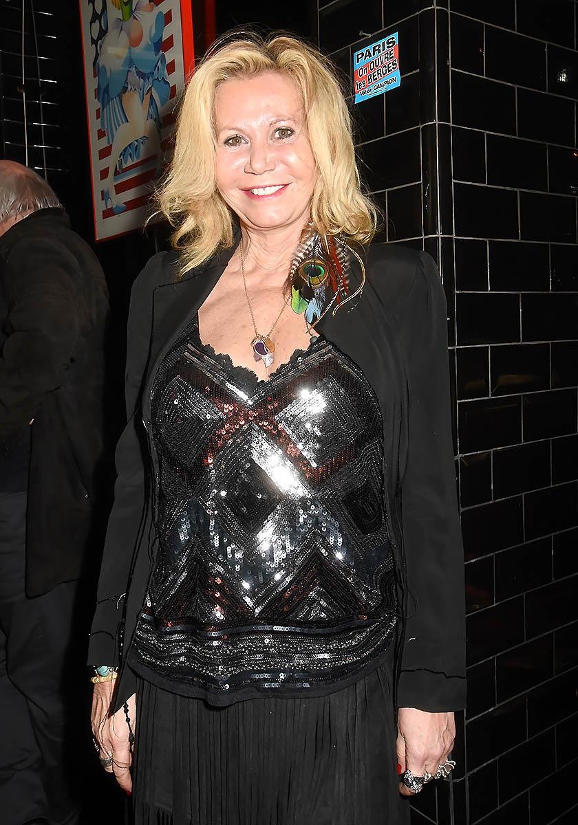 Fiona Gélin est venue en Wonder Damart