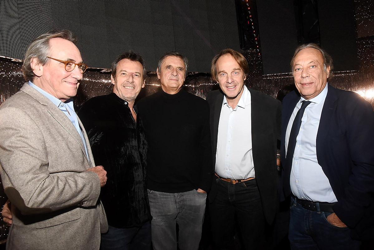Philippe Lavil, Jean Luc Reichmann, Hervé Taieb et Franck Couecou Mousquetairent pour le Professeur Glorion de l'Hopital Necker
