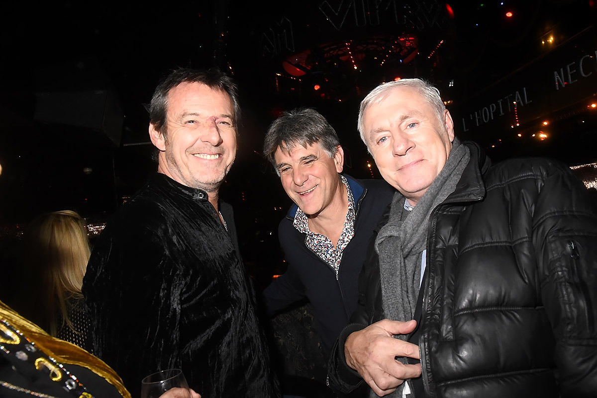 Au Carré VIP Reichmann, Tex et Luis Fernandez forment le trio infernal!