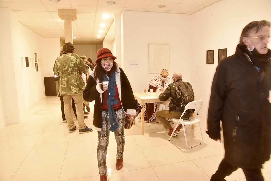 """Idem: Ambiance signature """"Les Nuits Parisiennes des années 80"""" par Arnaud Louis Chevalier  à La Galerie Hors Champs"""