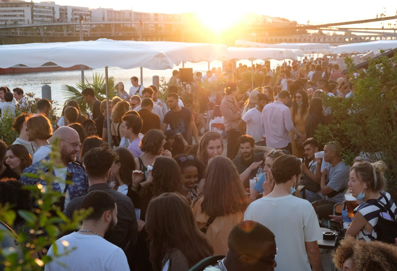 Sunset au Cargo pas besoin d aller a Ibiza