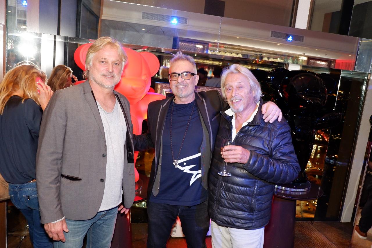 Denis Charvet, Jacky Jayet et Patrick Bouchitey