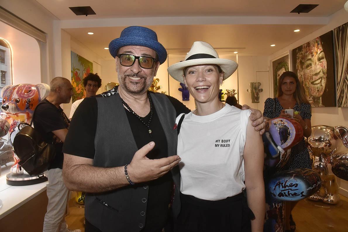 Jacky Jayet me présente Caroline en mode Metreaux Vigneaux Dodeaux