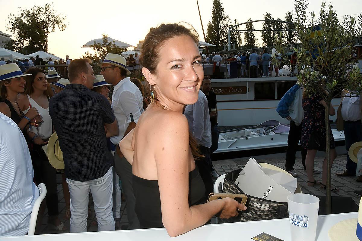 Emmanuelle Boidron en mode décapotable