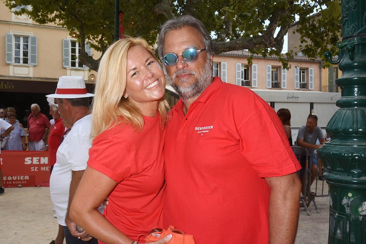 Ariane de Senneville et Thierry Bourdoncle voilà Monsieur et Madame Sénéquier