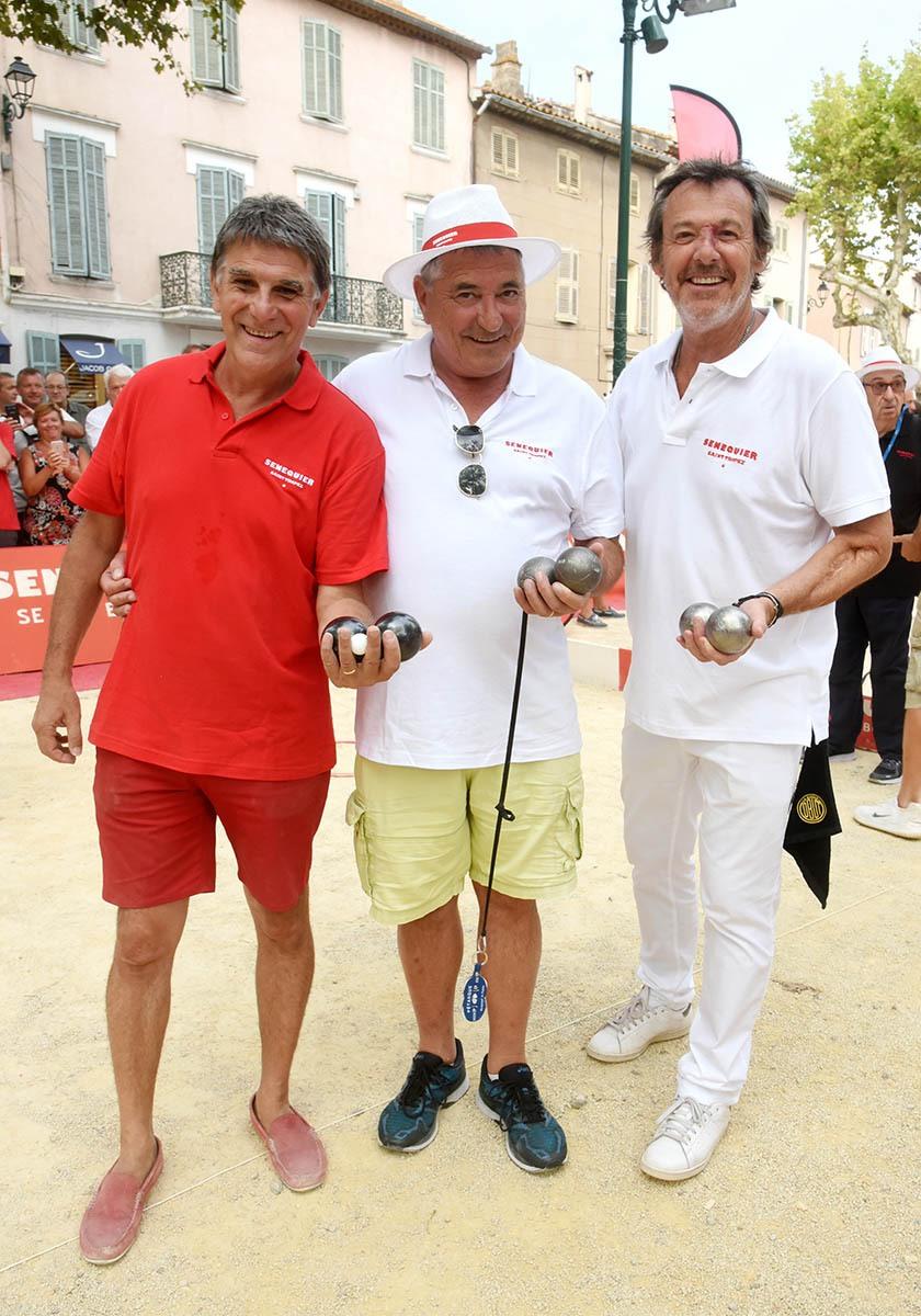 Tex, Marie et Jean Luc Copains comme cochonnets voila Les 3 Mousquetaires de La boule Tropézienne