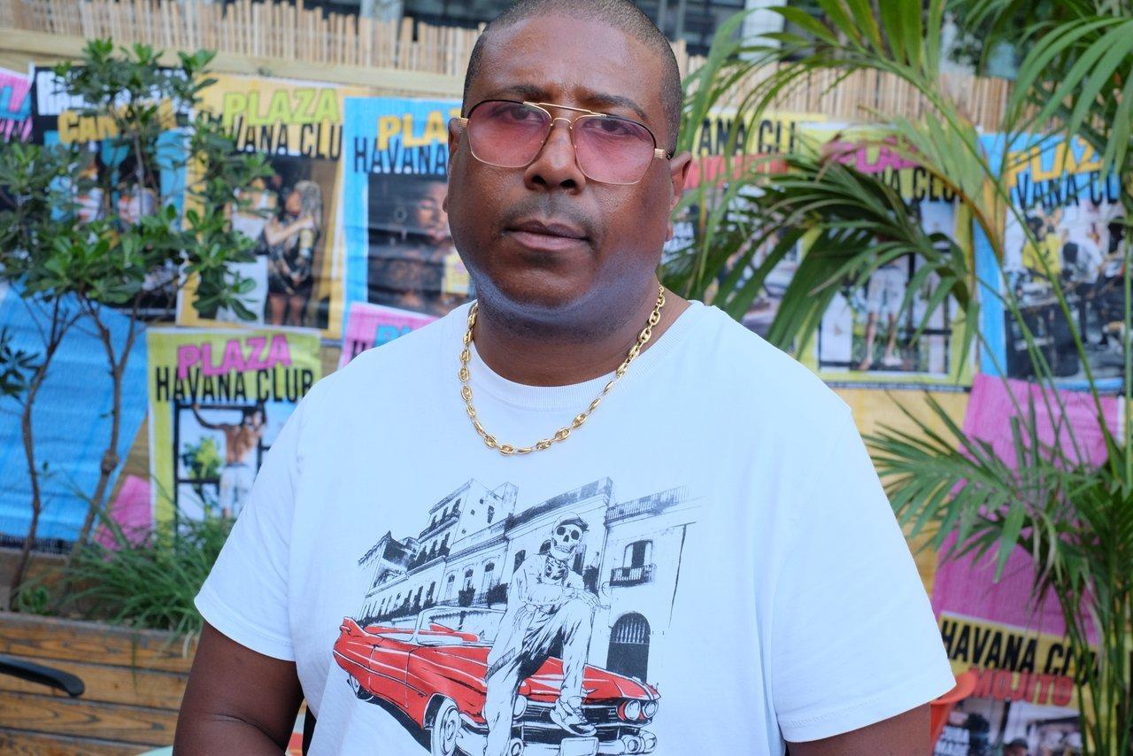 Jacky Brown en enregistrement a Plaza Havana