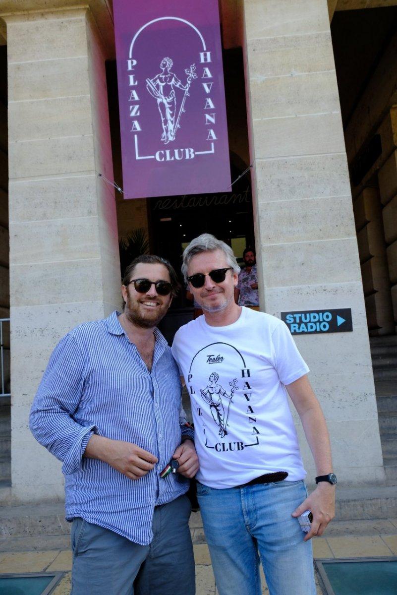 Bertrand Mialet et Emmanuel Duverrieres