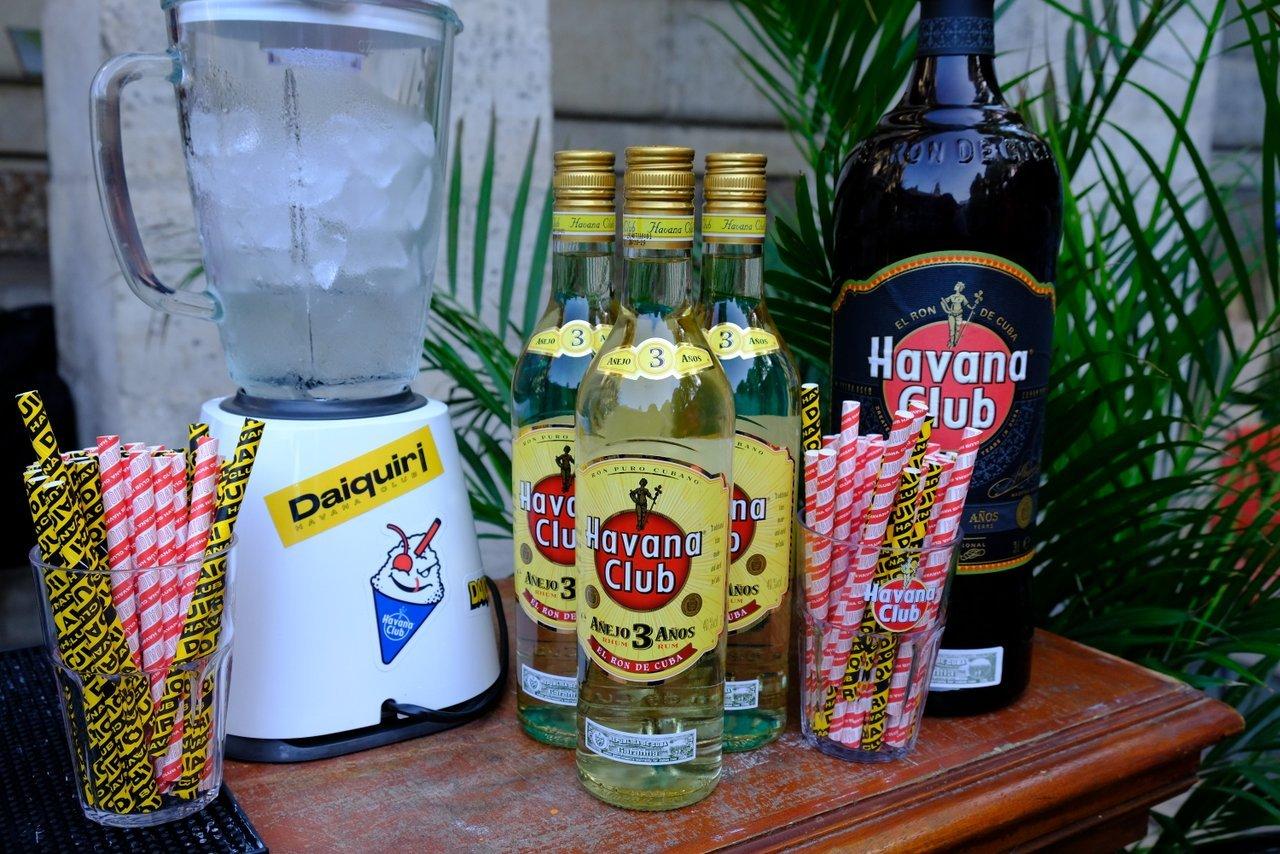 Le Daiquiri par Havana Club, c 'est rozen et c'est trop bon ( avec moderation)