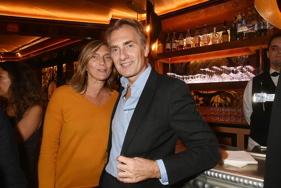 Fabrice Gaignault est venu avec sa frangine Lara pas Marie Claire bien sûr