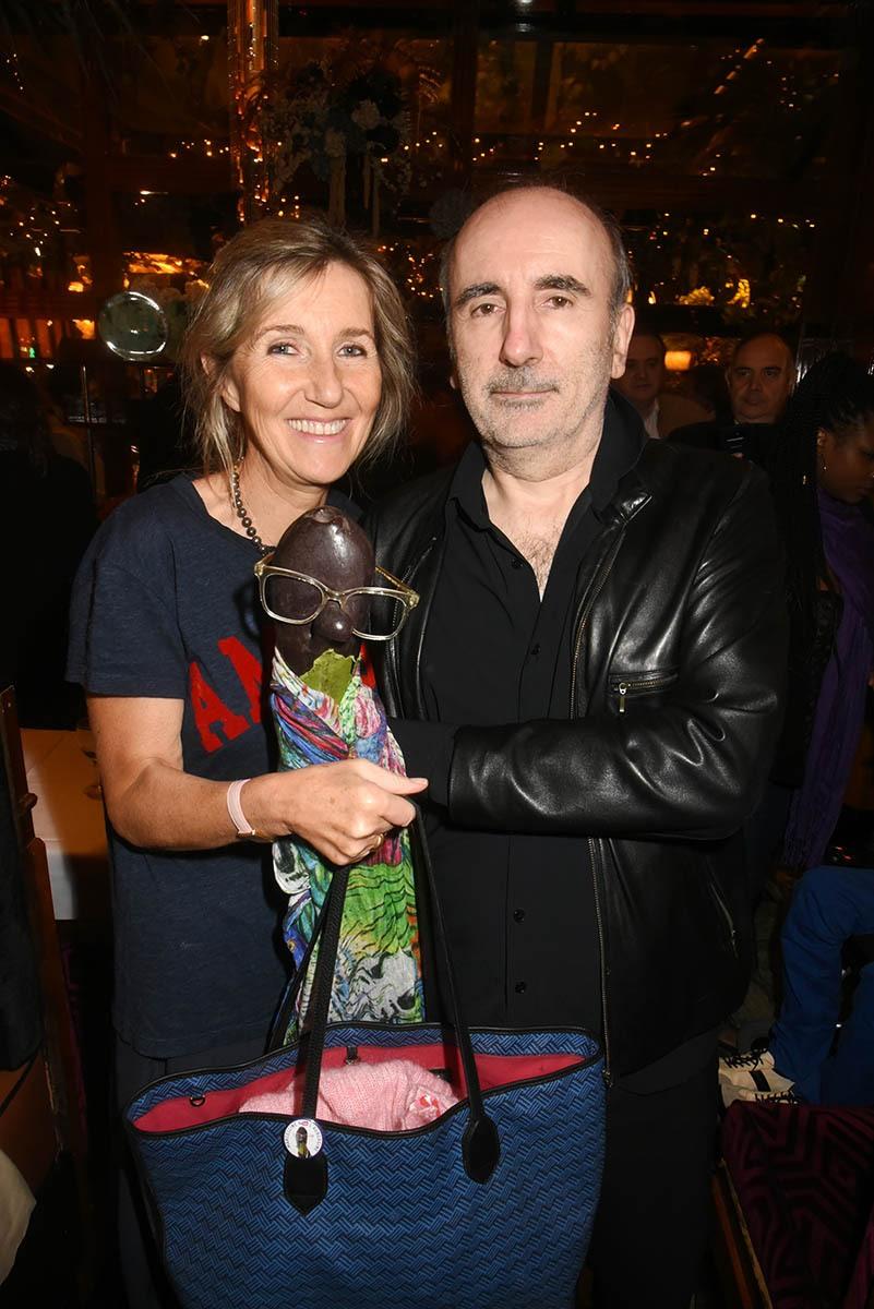 """Marceline Harel dite """"L'Aubergine"""" est venue avec maman Sylvie et papa Philippe"""