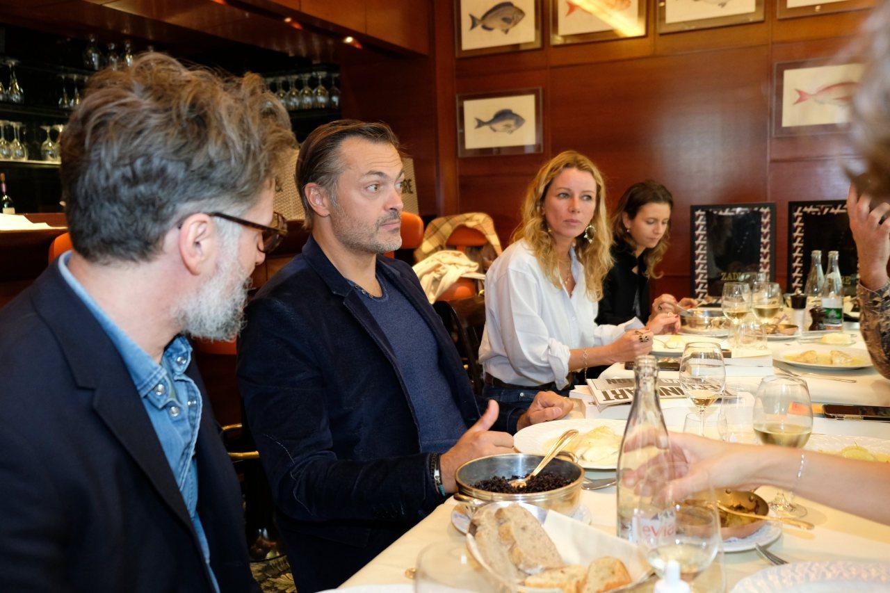 Jacques Braunstein, Remy Baume en pleine deliberation