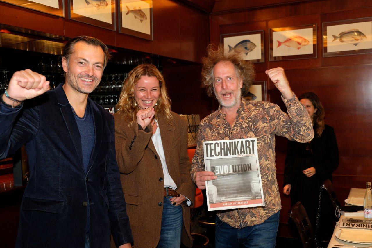 Remy dg de Zadig et Voltaire, Carole et Fabrice de Technikart, un mot d ordre ReLOVEution