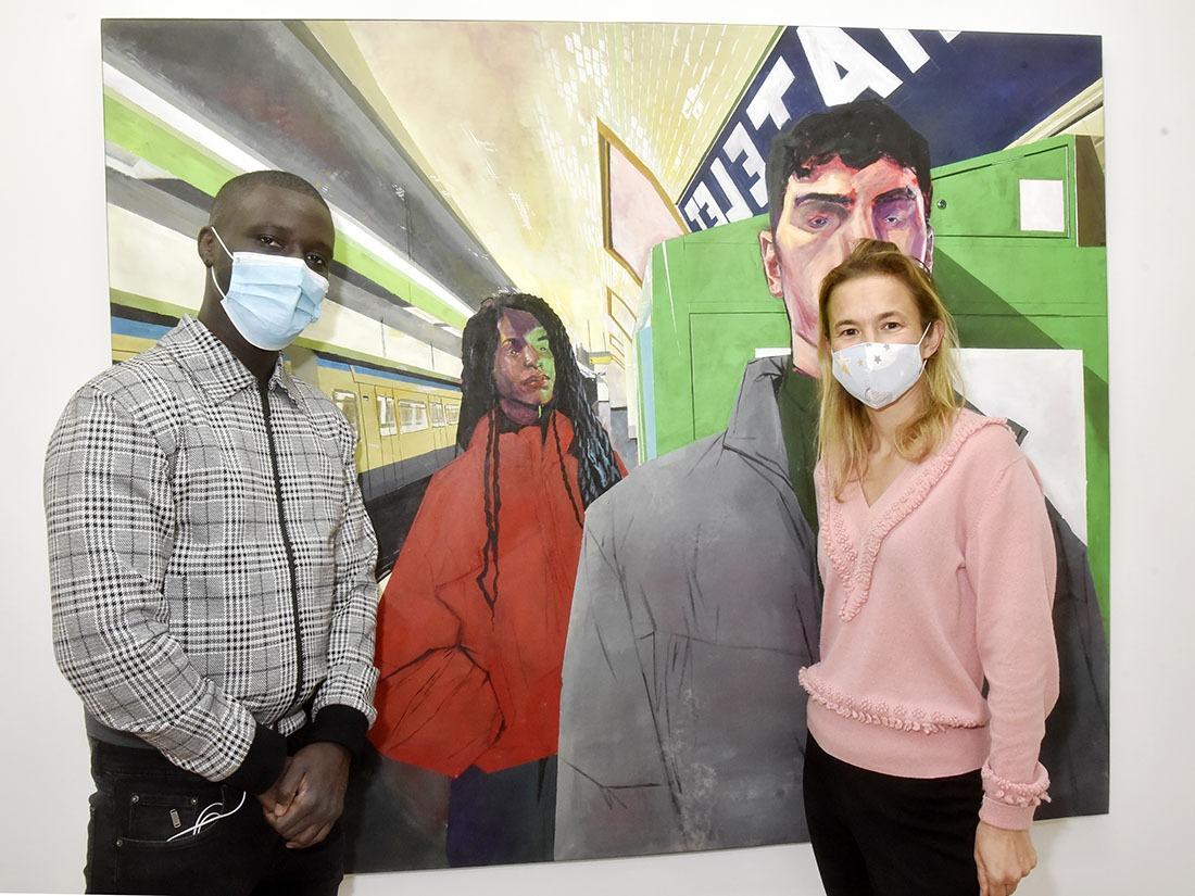 PV de 135 euros pour défaut de masque dans le métro ! Rien à dire: Rakajoo et Magda sont politiquement correct