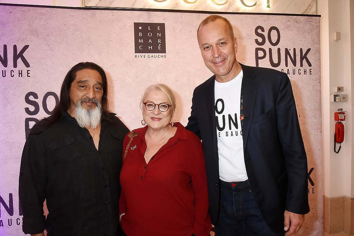 Patrice Wagner recoit La reine des punks du french cinema Josiane Balasko