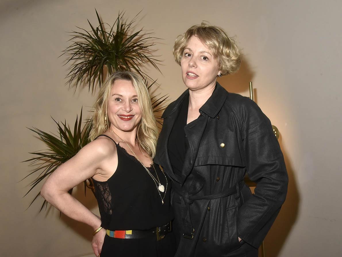 Gerrie Nicot et Elisabeth Grava Le Carré blondes pas pudibondes