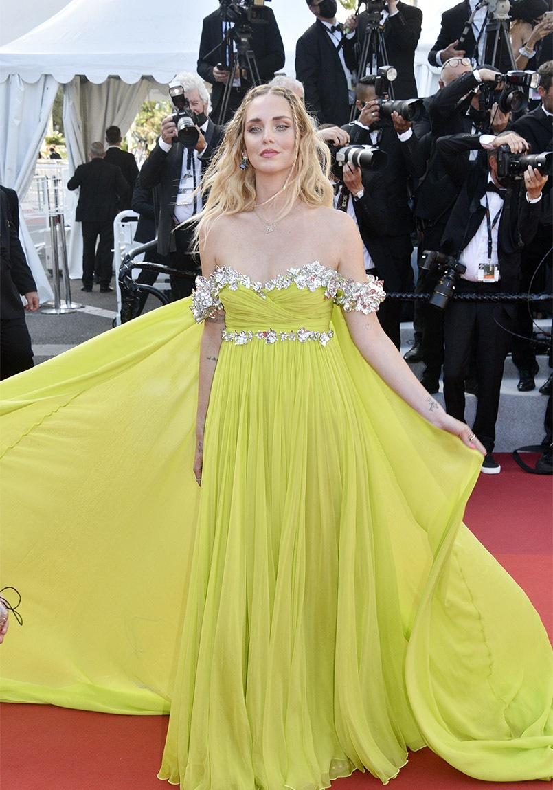 """Chiara Ferragni fait son """"Cannes A Ri"""""""