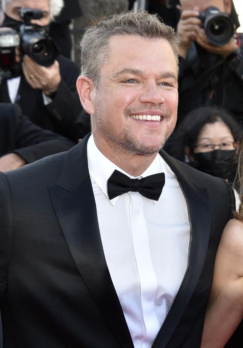 L' Ami Américain Matt Damon bogosse sur le red carpet