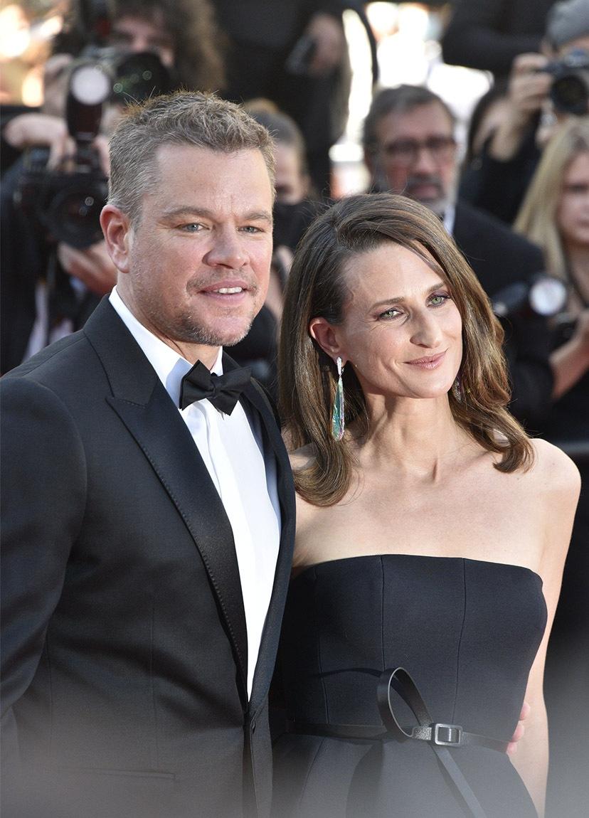 Matt Damon et Camille Cottin ? C'est un diner de Gala ou de Voici