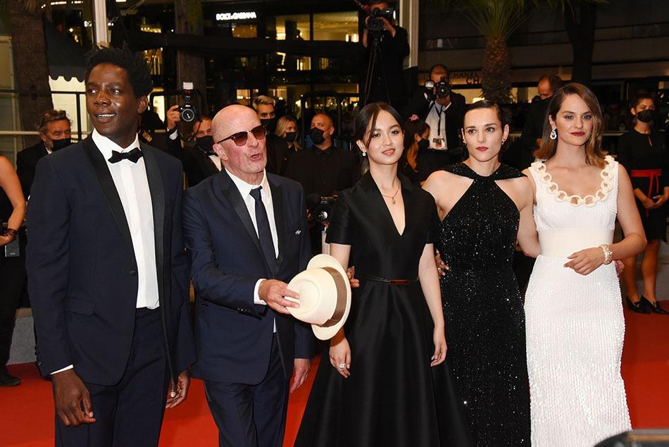 Jacques Audiard nous présente sa dream team Makita Samba, Jehnny Beth, Lucie Zhang et l'incontournable et talentueuse Noemie Merlant
