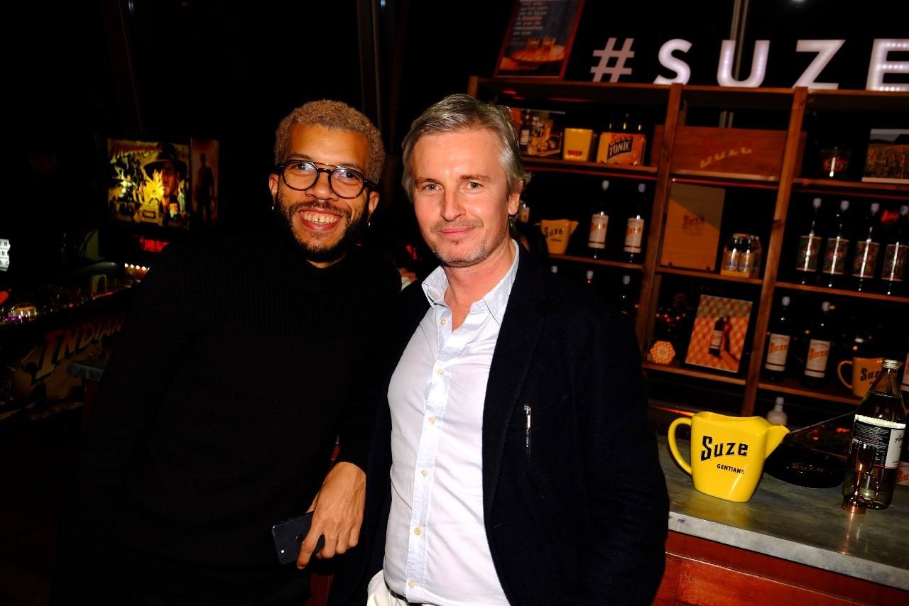 Ludovic Garçon et Emmanuel Duverrière.