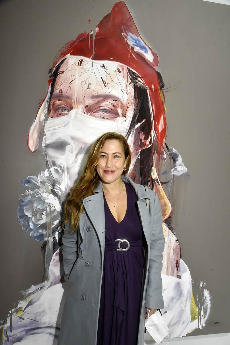 Myriam Charleins rêve d'avoir son buste en mode Marianne Charleins dans les mairies de France et de Navarre