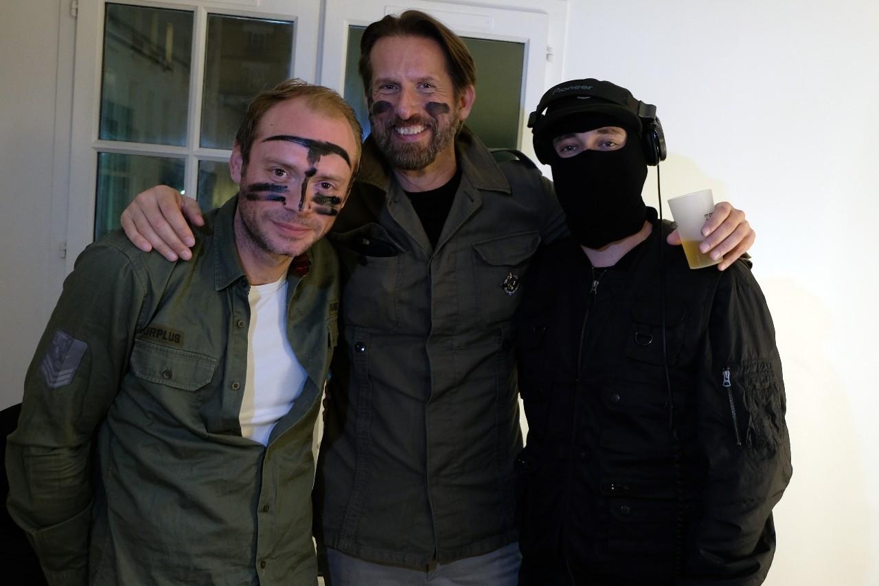 Julien le Stum, Sam Bobino et DJ BRI