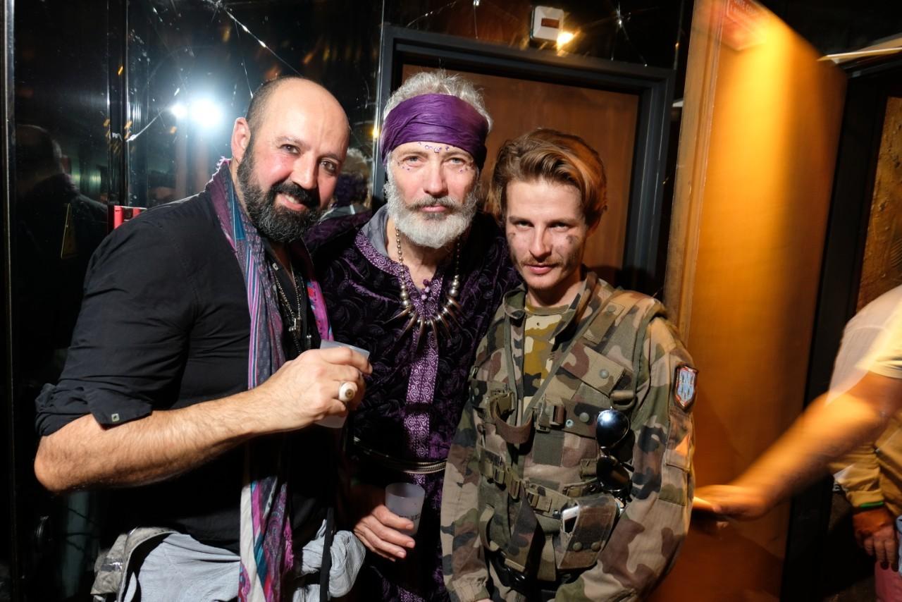 Isaac, Dan Marie Rouyer et DJ