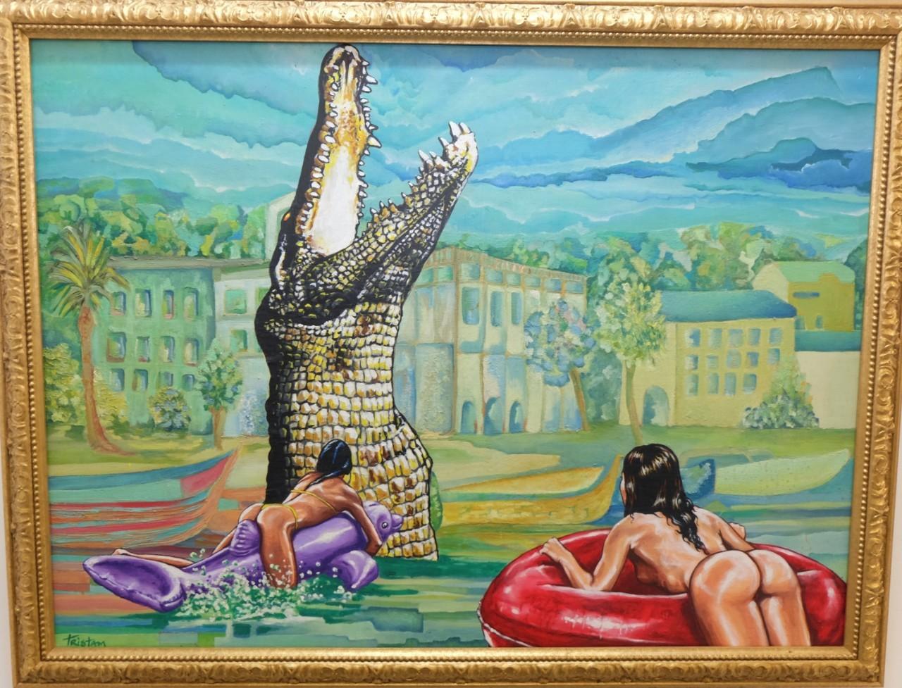 Ali Gator et les baigneuses dingues.