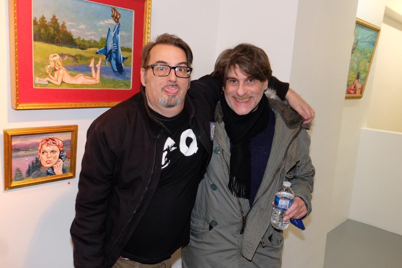 Tristam et Bob Farrel