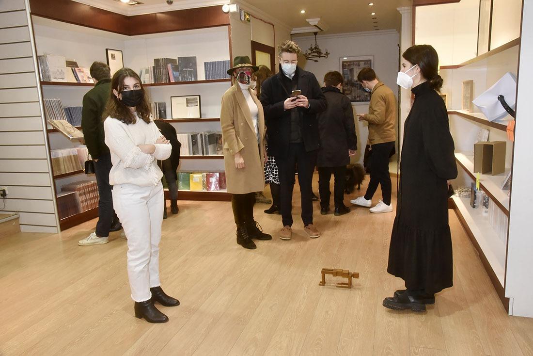 A La Galleria Conttinua Attention où vous mettez les pieds !
