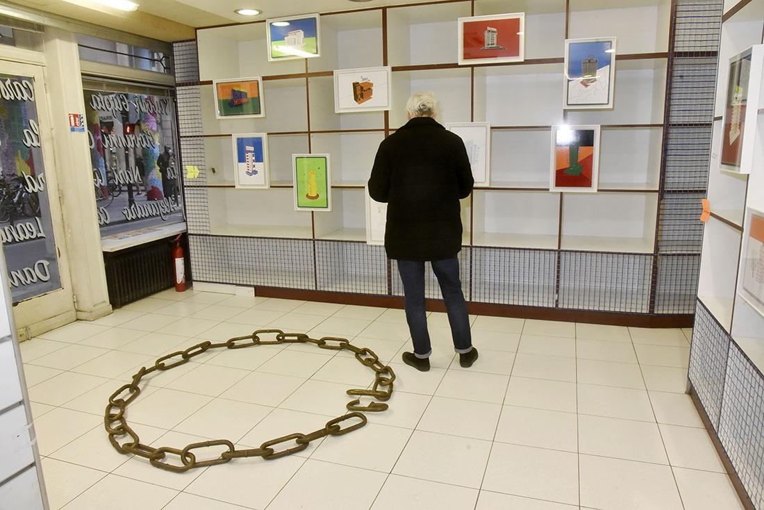 Pourtant La Galleria Continua est bien surveillée pour pas qu'on vous pique votre vespa !