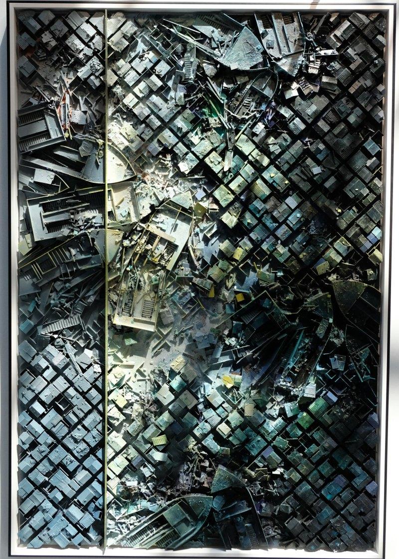 Une favela vue du ciel en'mode maquette : hallucinant!