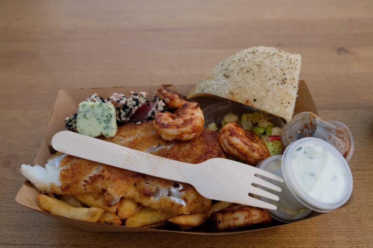 Au menu des Food Truck, ce fabuleux Fish and Chips