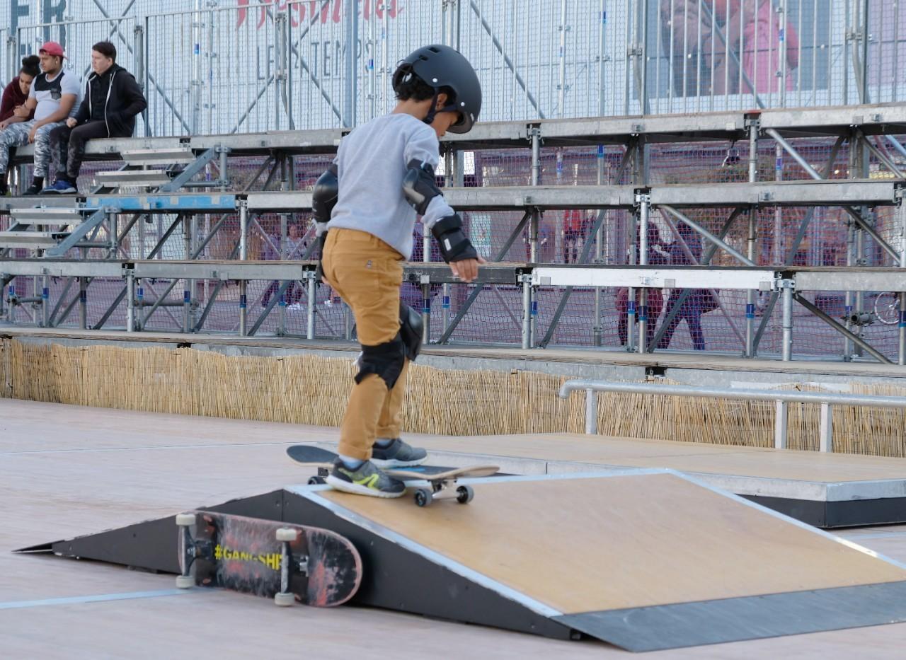 Initiation des plus jeunes au Skate
