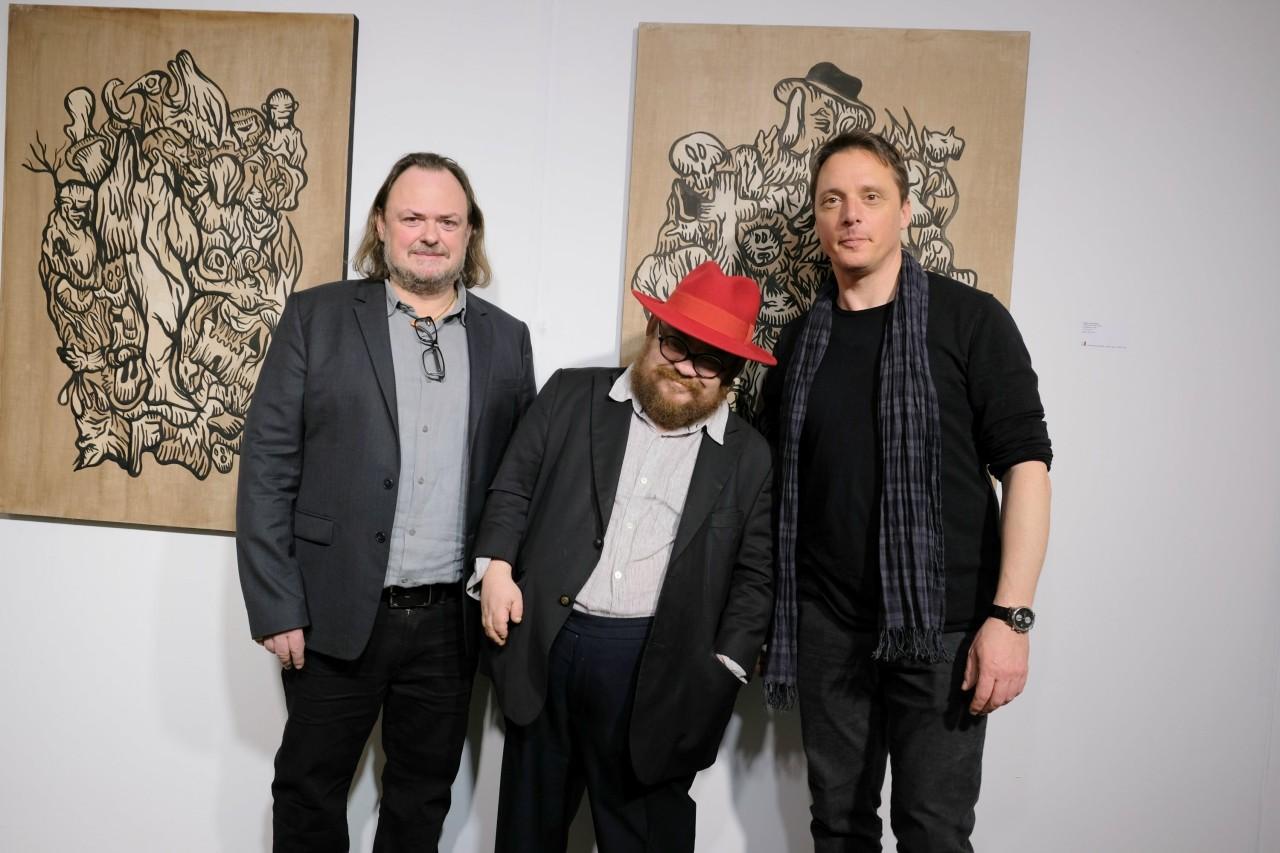 Eric Brugier , Fabien Verschaere et Laurent Rigail
