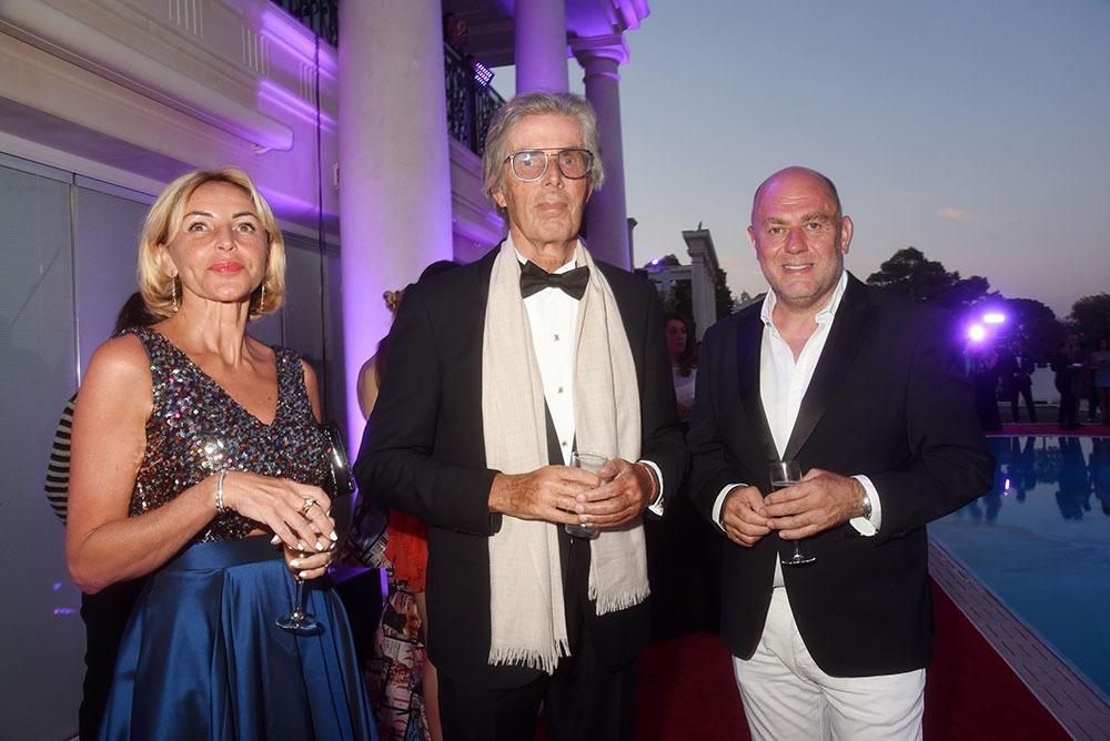 Grand invité de marque Dominique Desseigne avec Marie Chretien Franceschini et Francesco Maio