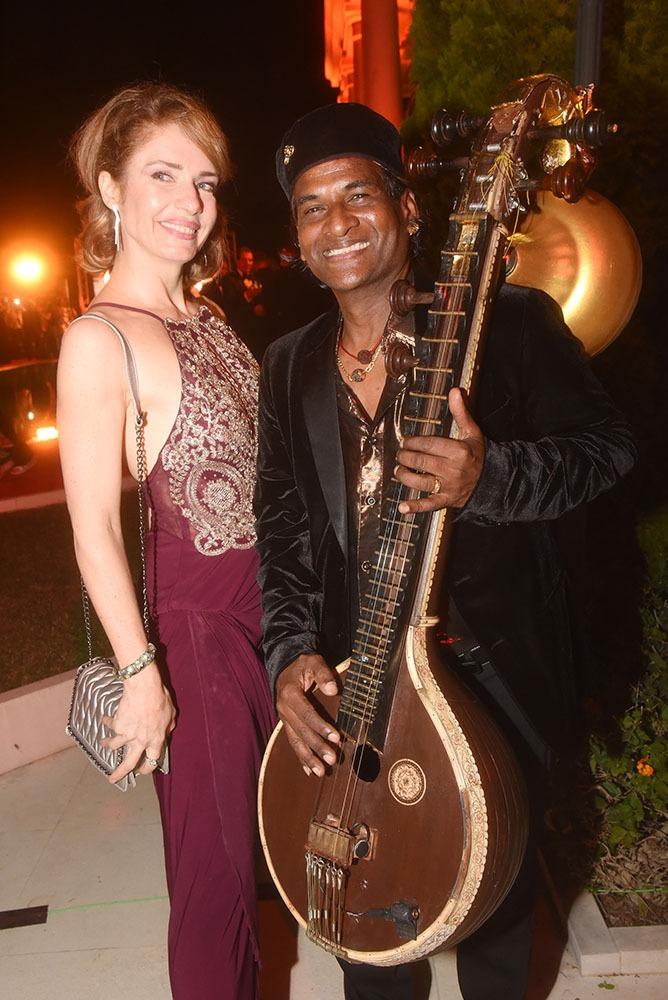 L'actrice Cristina Parovel se verrait bien dans un Bollywood movie genre « India Song »  avec Raghunath Manet