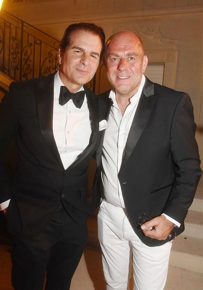 Vincent De Paul avec Francesco Maio de chez Forbes france tandemment