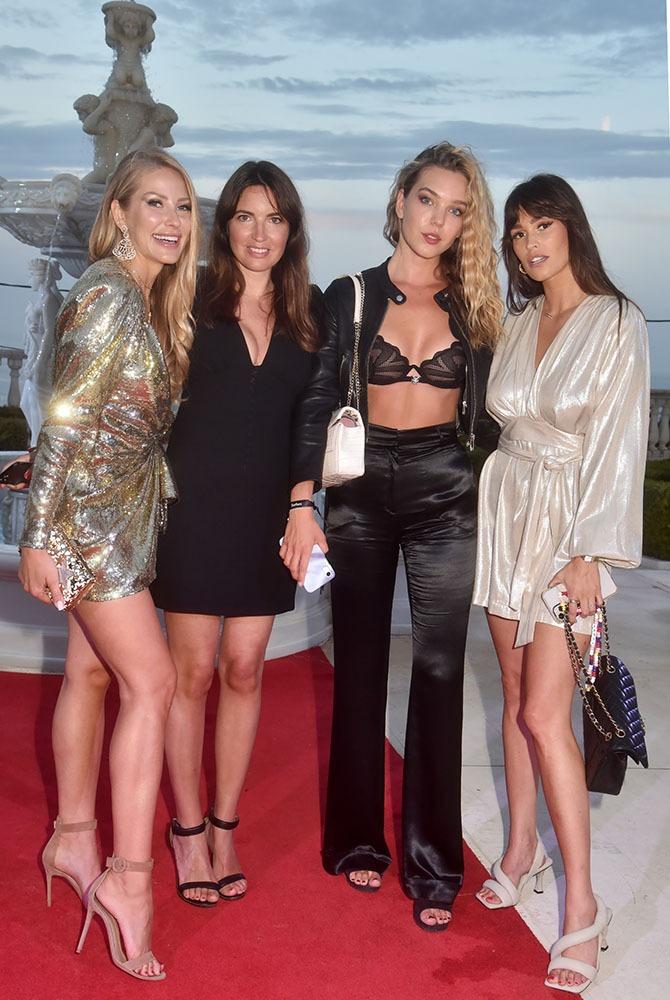 Inspiration. Lisa Chavy au milieu des plus belles: Ginta Biku, Priscilla Mezzadri et Alison Toby