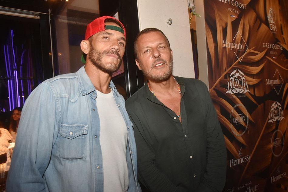 Rockers ! Seb Jondeau et son grand pote Jean Roch