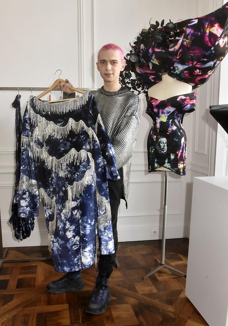 Victor Weinsanto aime se situer en frange de La mode officielle