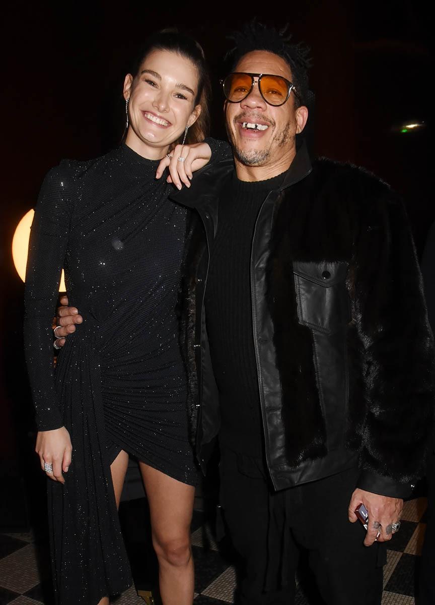 Ophélie Guillermand guillerette avec Joey Starr