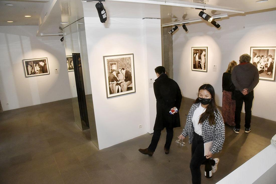 Expo images digitalement reconstituées par artiste Zhang Wei ambiance