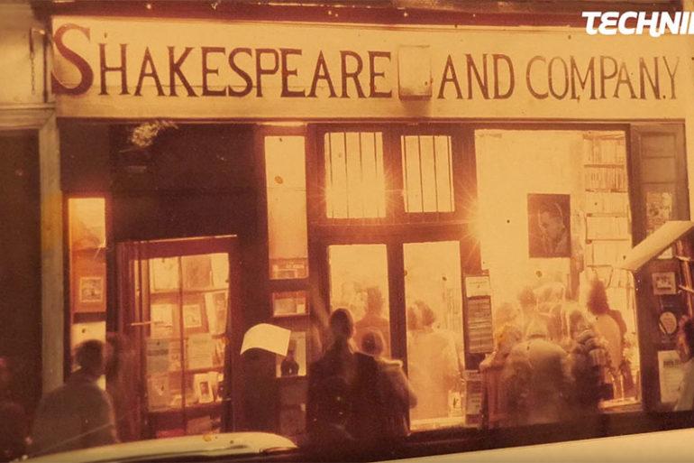 Shooting au Shakespeare and Company